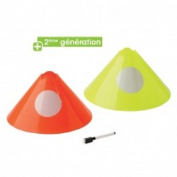 Set of 5 cones for marking