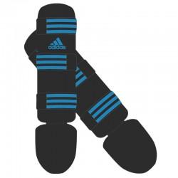 adidas Scheenbeschermers Good Zwart/Blauw Large