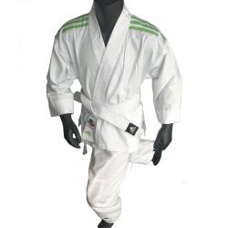 adidas Karatepak K200 Kids Wit/Groen 120-130cm
