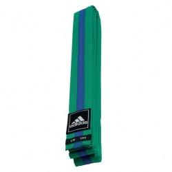 adidas Taekwondo Poomsae Band Groen/Blauw 240cm