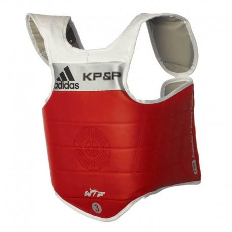 adidas E-Body Protector Rood Large (4)