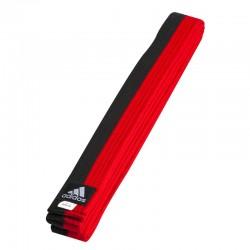 adidas Taekwondo Poomband Zwart/Rood 240cm