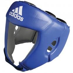 adidas AIBA hoofdbeschermer blauw L