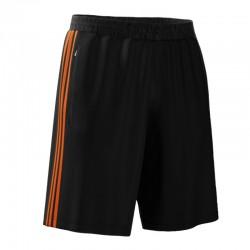 adidas MiTeam Short Men Zwart/Oranje S