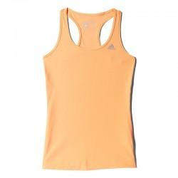 adidas Techfit Tanktop Oranje Large (44)