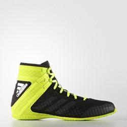 adidas Boksschoenen Speedex Zwart/Lime 16.1 Maat 47 1/3