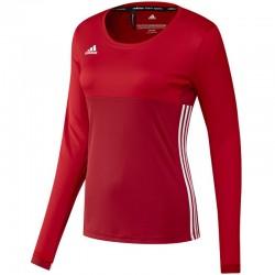 adidas T16 ClimaCool Long Sleeve Tee Women Rood maat XS