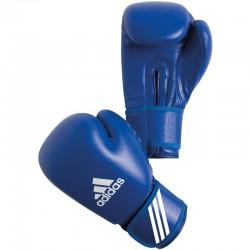 adidas AIBA Amateur bokshandschoenen PU 10 oz blauw