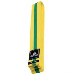 adidas Taekwondo Poomsae Band Geel/Groen 240cm