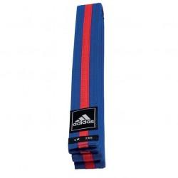 adidas Taekwondo Poomsae Band Blauw/Rood 240cm