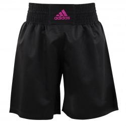adidas Multi Boxing Short Zwart/Roze Large