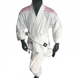 adidas Karatepak K200 Kids Wit/Roze 120/130 cm