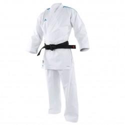 adidas Karatepak Adilight Wit/Blauw 170