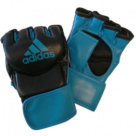 adidas Traditional Grappling Handschoenen Zwart/Blauw Extra Large