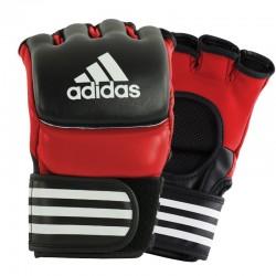 adidas Ultimate MMA Handschoenen Rood/Zwart M