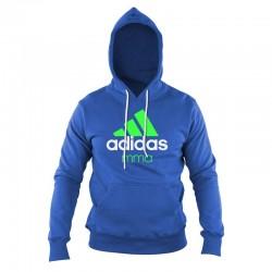 adidas Community Hoodie Blauw/Groen MMA maat M