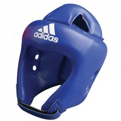 adidas Rookie hoofdbeschermer Blauw Large
