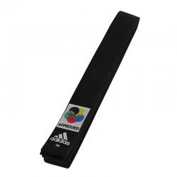 adidas Karateband Elite WKF Logo 45mm Zwart 260cm