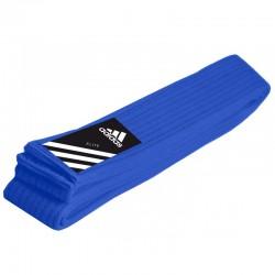 adidas Judoband Elite 45 mm Blauw 260cm