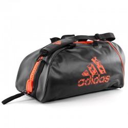 adidas Super Sporttas Zwart/Oranje Medium