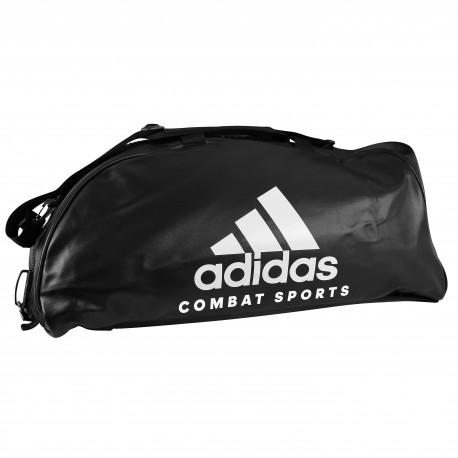 adidas Training Sporttas Combat 2 in 1 Zwart/Wit Medium