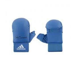 adidas WKF Karatehandschoen Met Duim Blauw Large