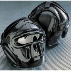 Black Line Head Guard with top pad