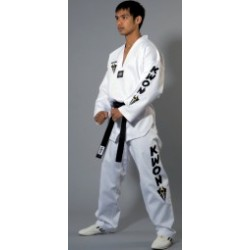 Starfighter TKD Uniform with white lapel