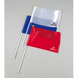 Referee flag blue