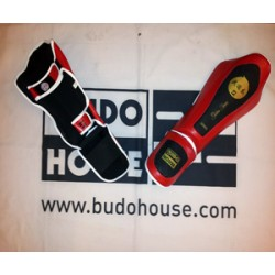 Shin protector plus instep Leather