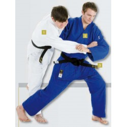 Judogi HIKU Shiai, blue IJF approved
