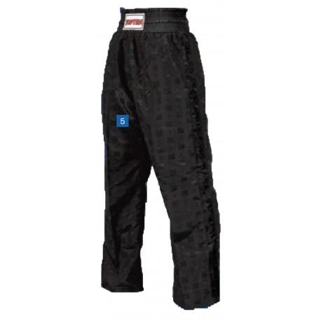 "Kickboxhose ""Classic"" black, stripes black"