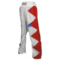 "Kickboxpants ""Champ"" red/white"
