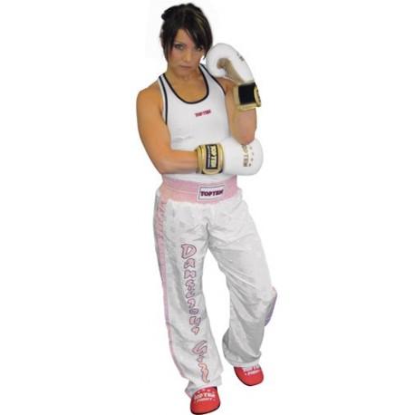 Kickboxing Top for women, white