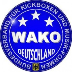WAKO Label for boxing gloves