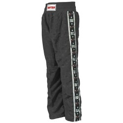 "Kickboxing pants ""Kampfkatzen"" black 130cm"