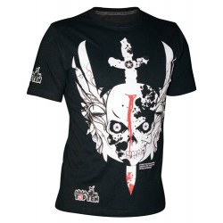 "Cottonshirt TOP TEN MMA ""Sword"" black"