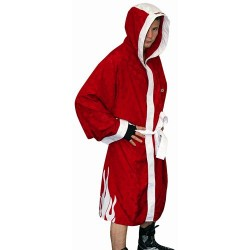 "Boxing robe ""Flame"" red"