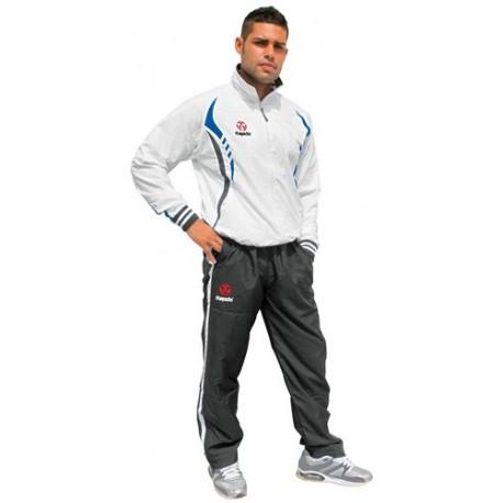 Training suit HAYASHI white/black/blue