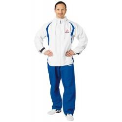 """Training suit """"Hayashi"""" white/blue"""
