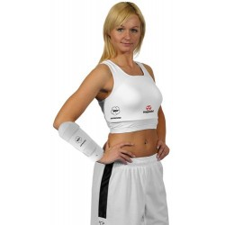 Women-Chesguard MAXI white WKF approved