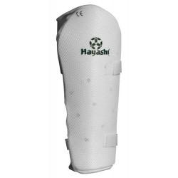 Protège-tibias Hayashi Blanc