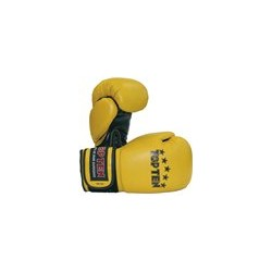 "Boxing gloves TOP TEN ""Thaiboxing"" yellow 10oz"