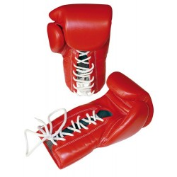 """Boxing gloves TOP TEN """"Mexican Style"""" red"""