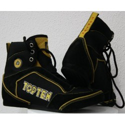 Boxing shoes TOP TEN black/gold