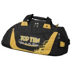 "Sportbag TOP TEN ""Get in th Ring"" Black/Gold"