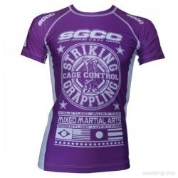 "Rashguard ""Grand Prix"" violet"