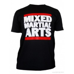 T-Shirt Mixed martial arts noir