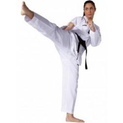 Victory taekwondo uniform white lapel Kwon