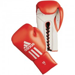 Glory Professional Boxing Gloves Red/White